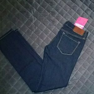 NWT PINK Victoria's Secret skinny jeans, sz 0